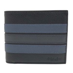 Coach Men's 3-In-1 Varsity Leather Stripe Wallet